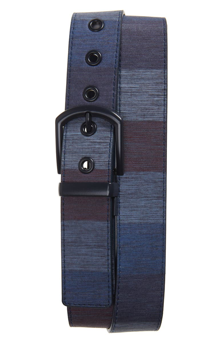CUATER BY TRAVIS MATTHEW Torched Canvas Belt, Main, color, 400