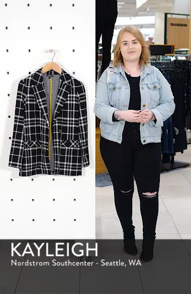Double Breasted Check Jacket, sales video thumbnail