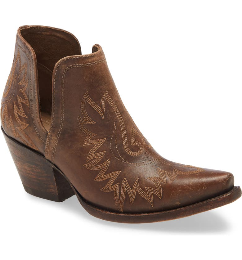 ARIAT Dixon Bootie, Main, color, NATURALLY DISTRESSED BROWN