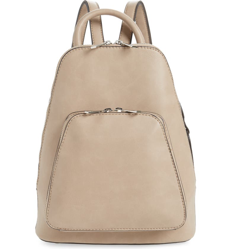 SOLE SOCIETY Aushan Faux Leather Backpack, Main, color, 260