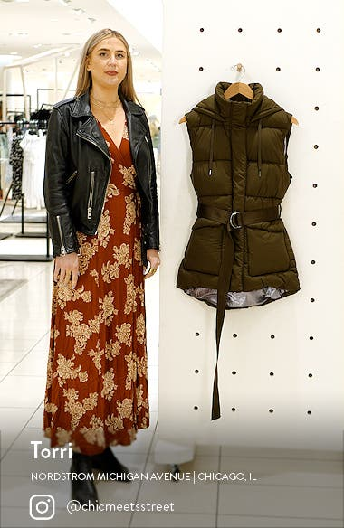 Recycled Polyester Puffer Vest, sales video thumbnail