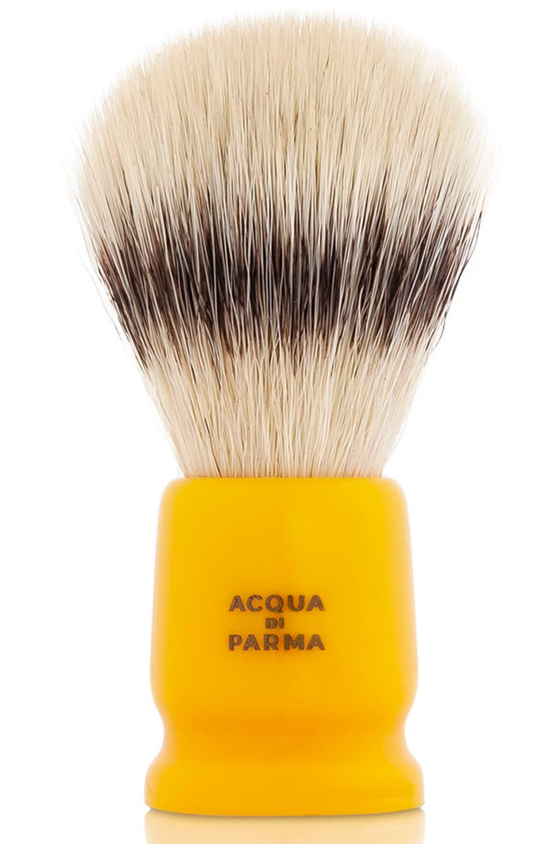 ACQUA DI PARMA Barbiere Yellow Travel Shaving Brush, Main, color, 000