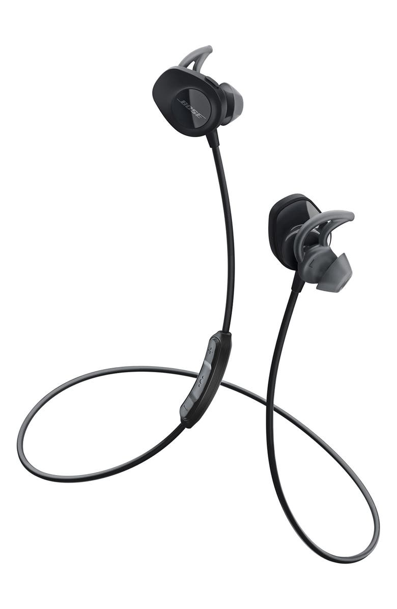 BOSE<SUP>®</SUP> SoundSport<sup>®</sup> Wireless Earbuds, Main, color, Black