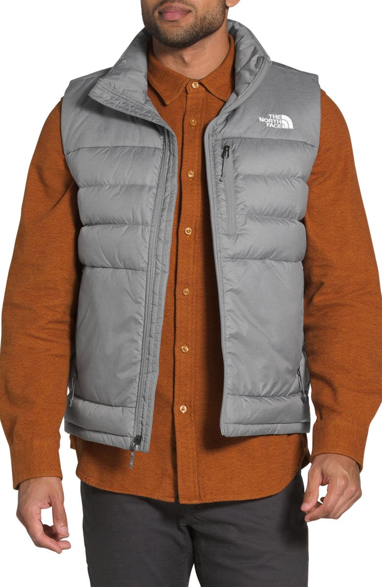 THE NORTH FACE Aconagua 2 Down Vest, Main, color, TNF MEDIUM GREY HEATHER