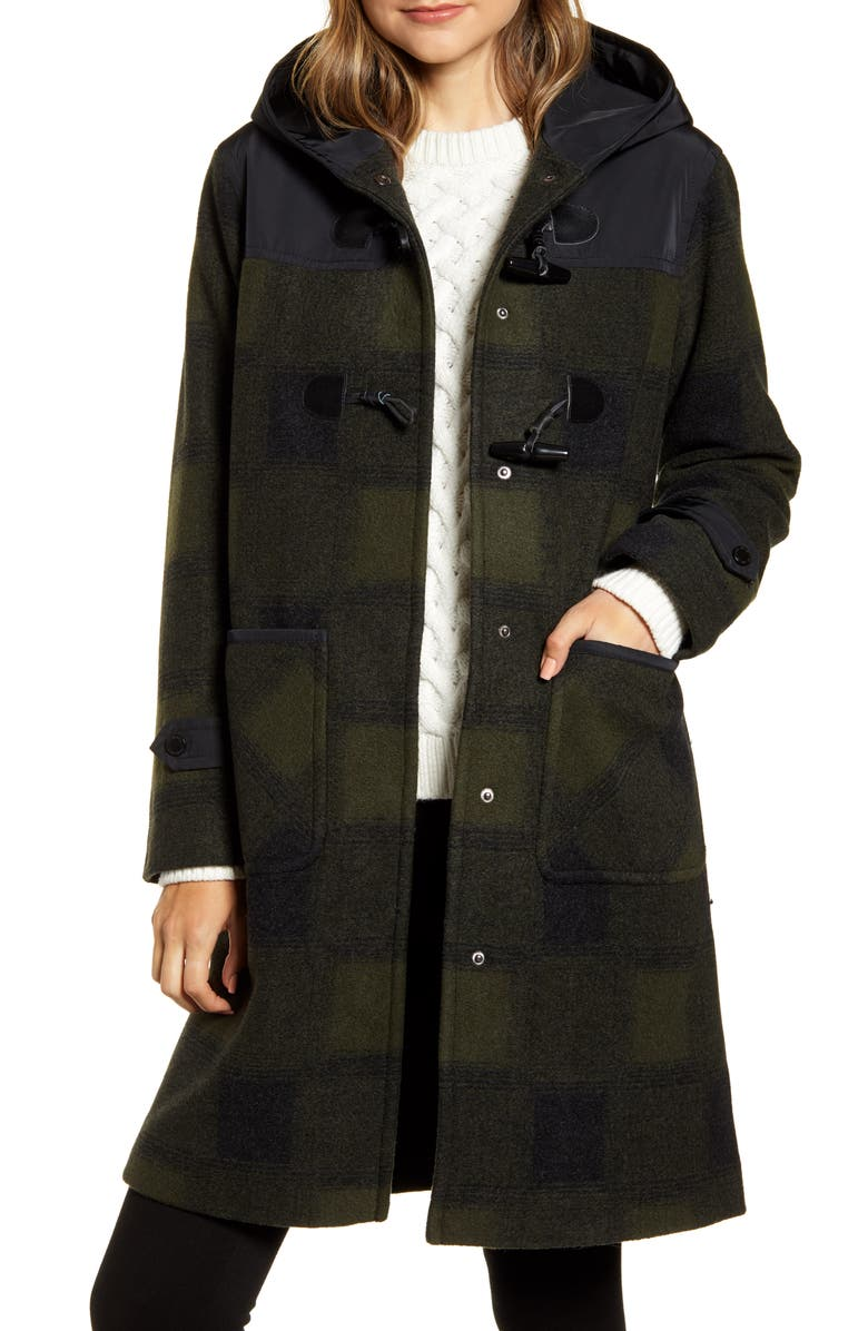 PENDLETON Sandy Hooded Duffle Coat, Main, color, 341