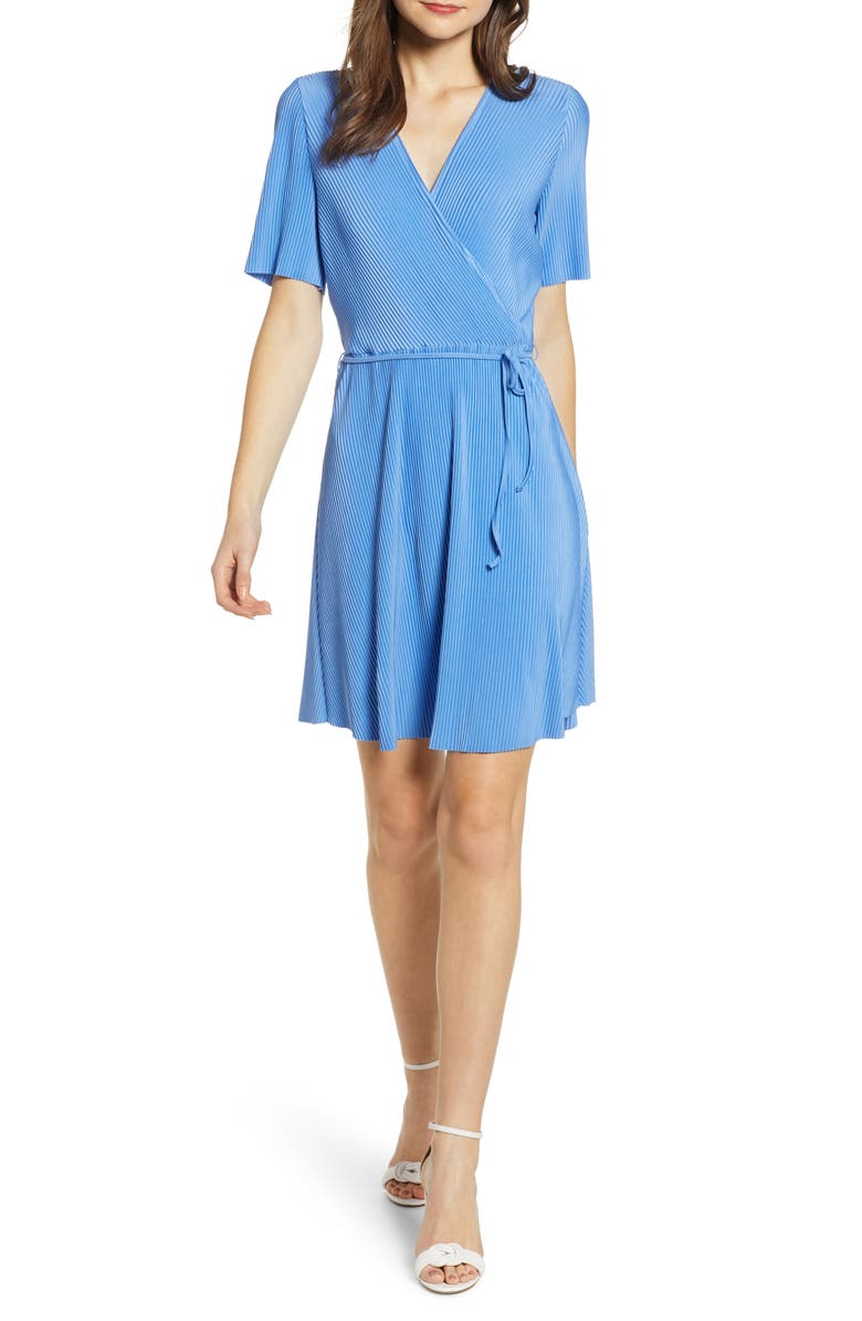 VERO MODA Tally Wrap Dress, Main, color, 400