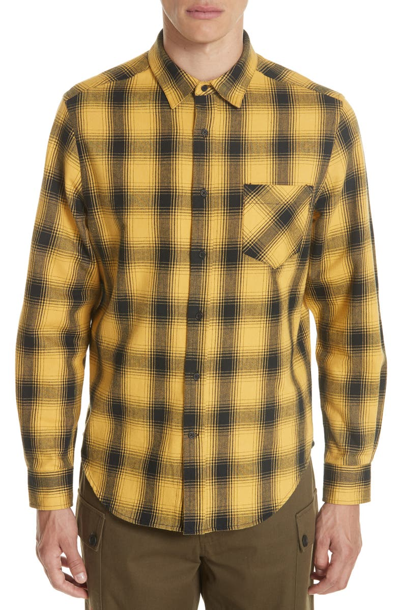 OVADIA & SONS Max Plaid Flannel Shirt, Main, color, 851