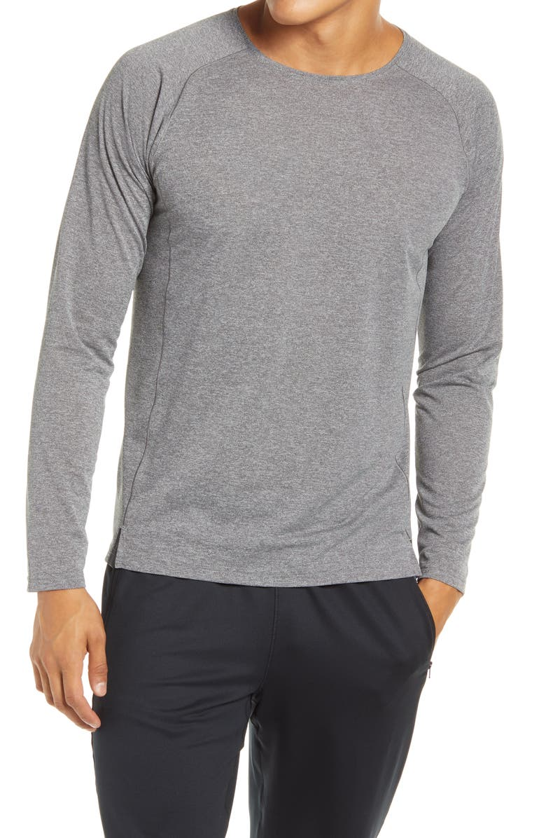 BROOKS Ghost Long Sleeve Performance T-Shirt, Main, color, 020