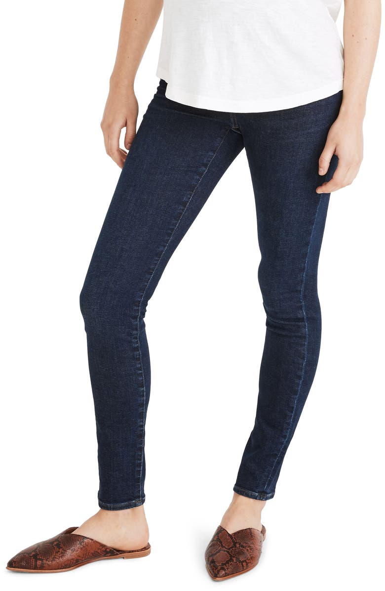 MADEWELL Over-the-Belly Tencel<sup>®</sup> Edition Skinny Maternity Jeans, Main, color, ORLAND WASH
