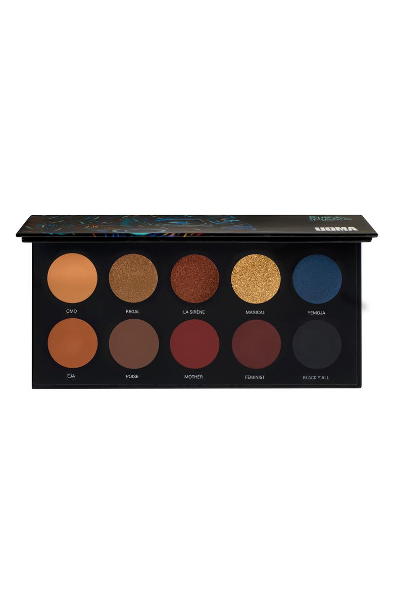 UOMA BEAUTY Black Magic Poise Color Palette, Main, color, NO COLOR