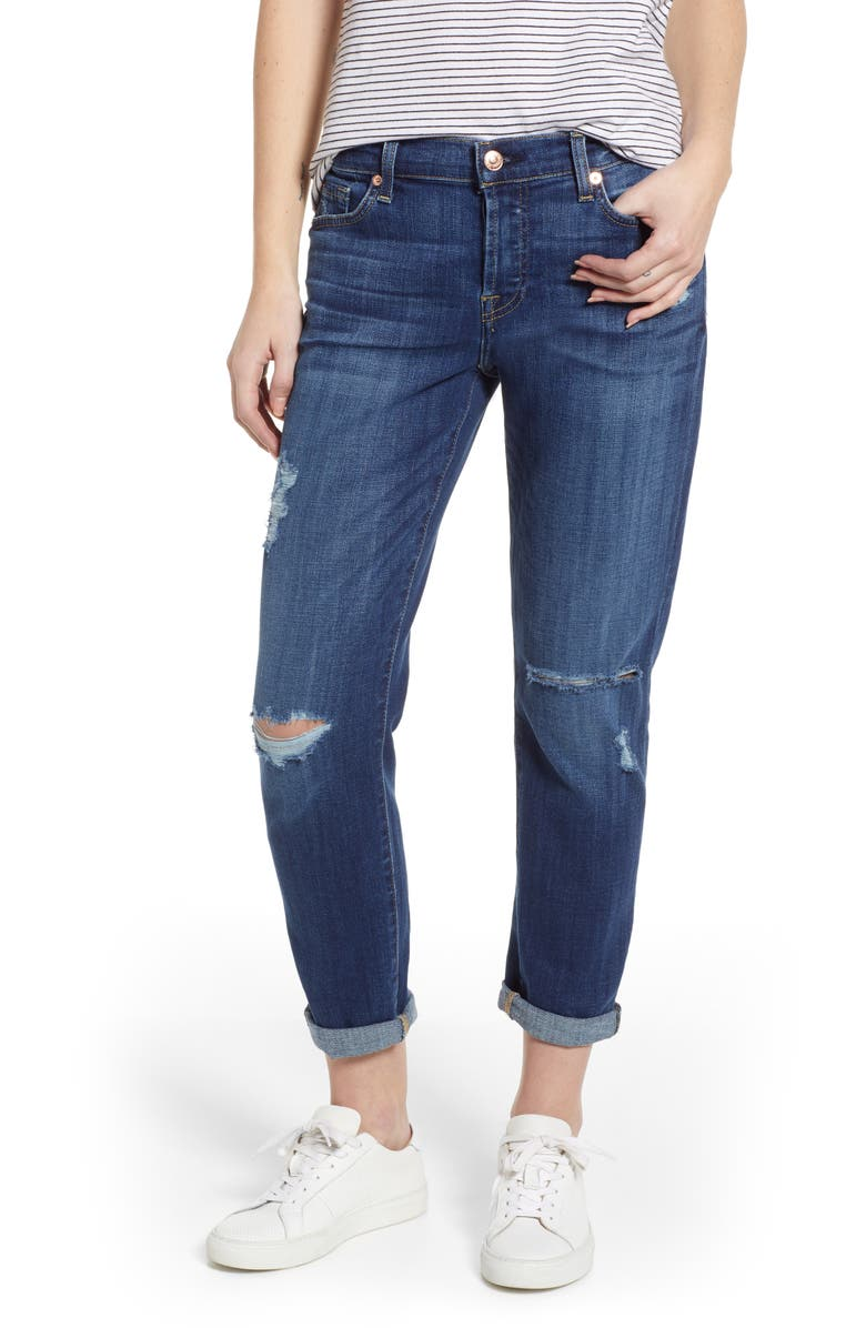 7 FOR ALL MANKIND<SUP>®</SUP> Josefina Boyfriend Jeans, Main, color, 403