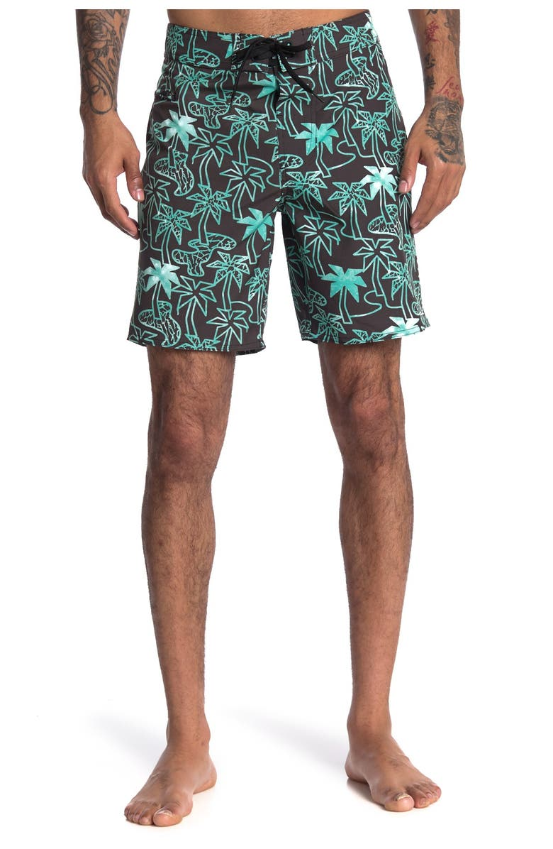 LOST Session Boardshorts, Main, color, MINT LOST