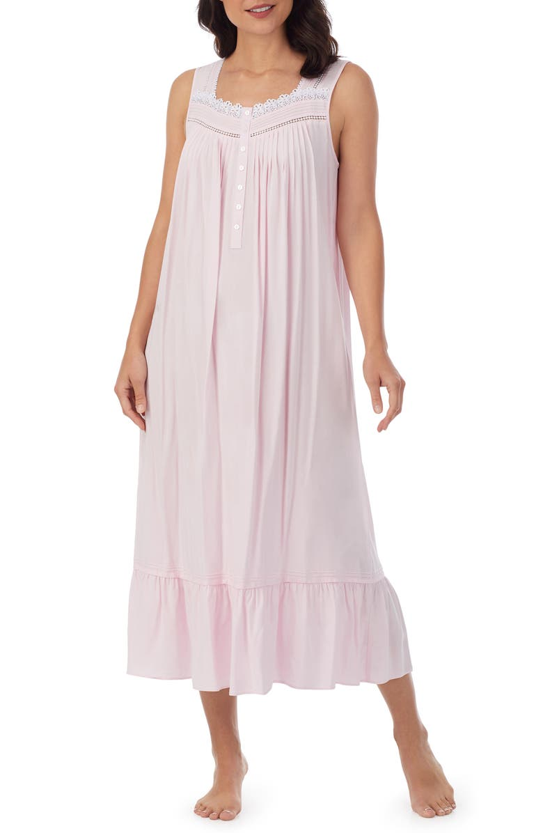 EILEEN WEST Ballet Nightgown, Main, color, PINK
