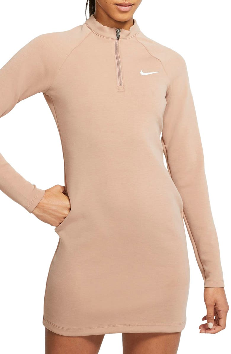NIKE Sportswear Long Sleeve Minidress, Main, color, 200