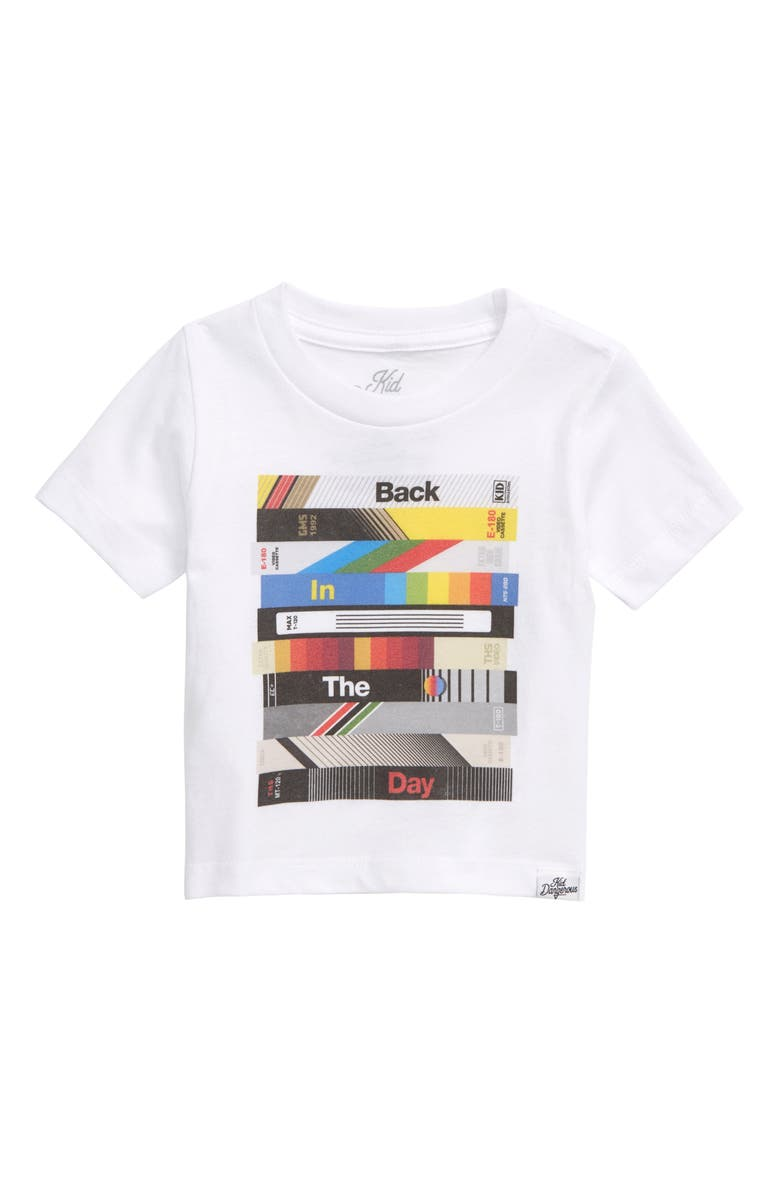 KID DANGEROUS Back in the Day Graphic T-Shirt, Main, color, 100