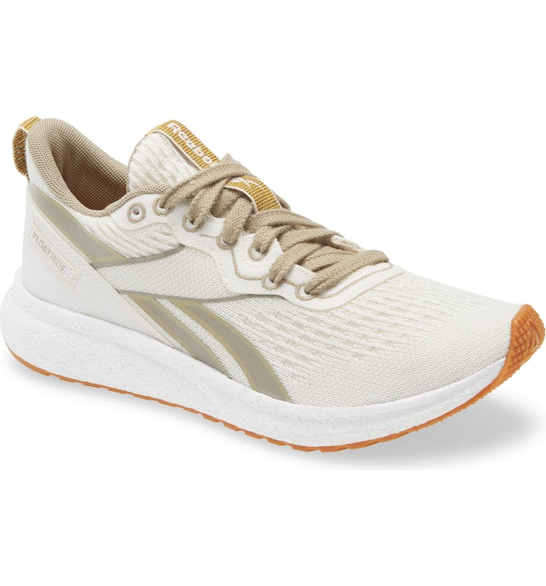 REEBOK Forever Floatride Grow Running Shoe, Main, color, CLASSIC WHITE/ STRAW/ NEUTRAL