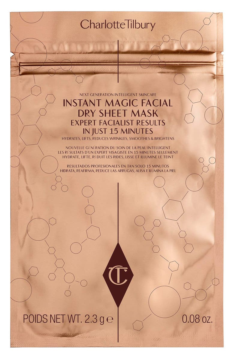 CHARLOTTE TILBURY Instant Magic Facial Dry Sheet Mask, Main, color, No Color