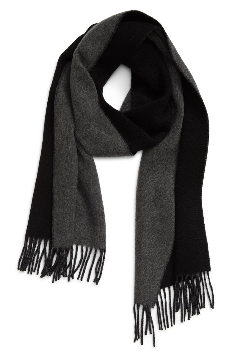 ANDREW STEWART Double Face Cashmere Scarf, Main, color, 005