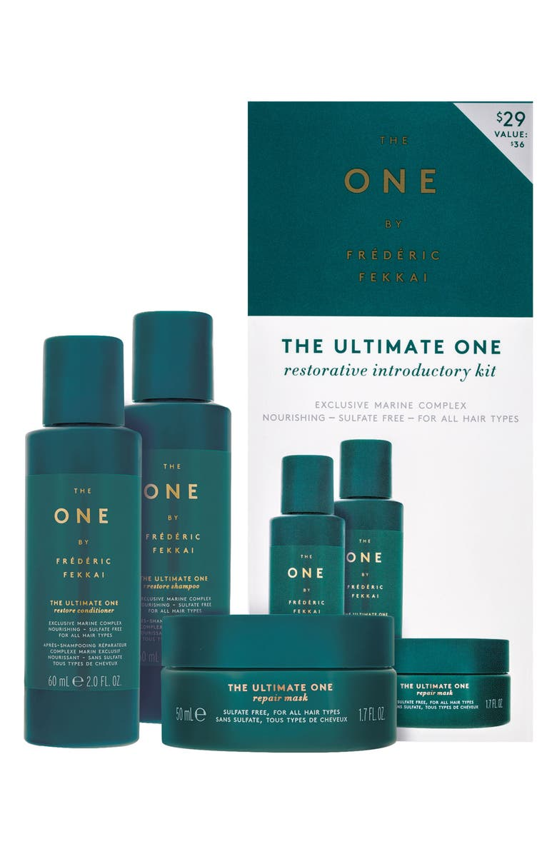 THE ONE BY FREDERIC FEKKAI The Ultimate One Restorative Introductory Kit, Main, color, NO COLOR