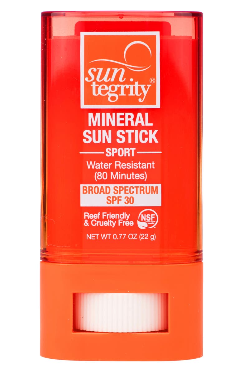 SUNTEGRITY Mineral Sport Sun Stick Broad Spectrum SPF 30, Main, color, No Color