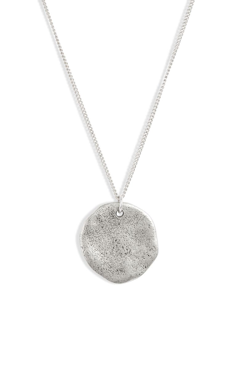 SET & STONES Leni Pendant Necklace, Main, color, Silver