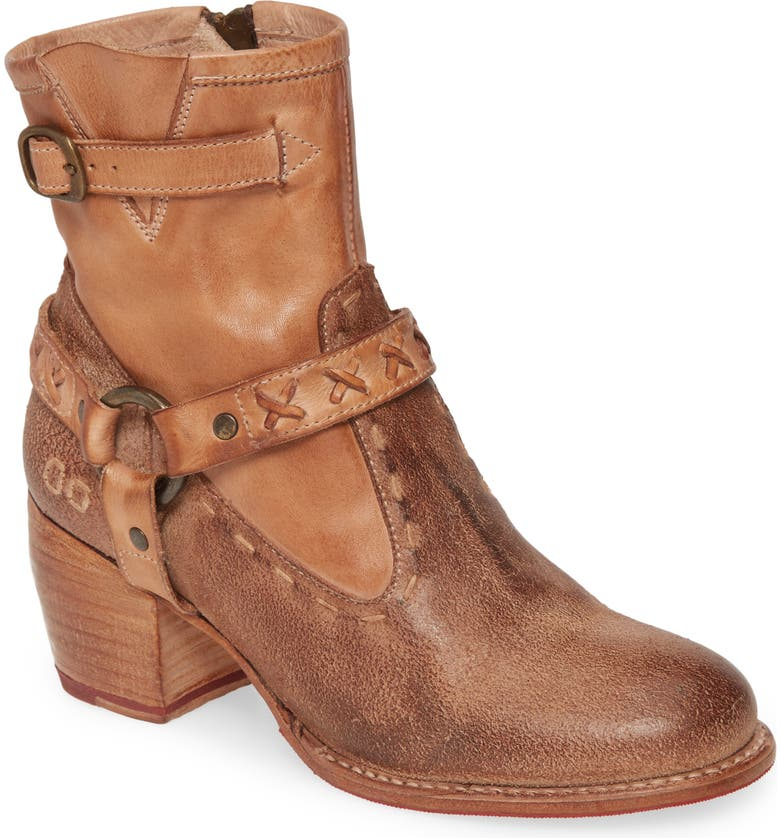 BED STU Octane 2 Western Boot, Main, color, TAN LEATHER