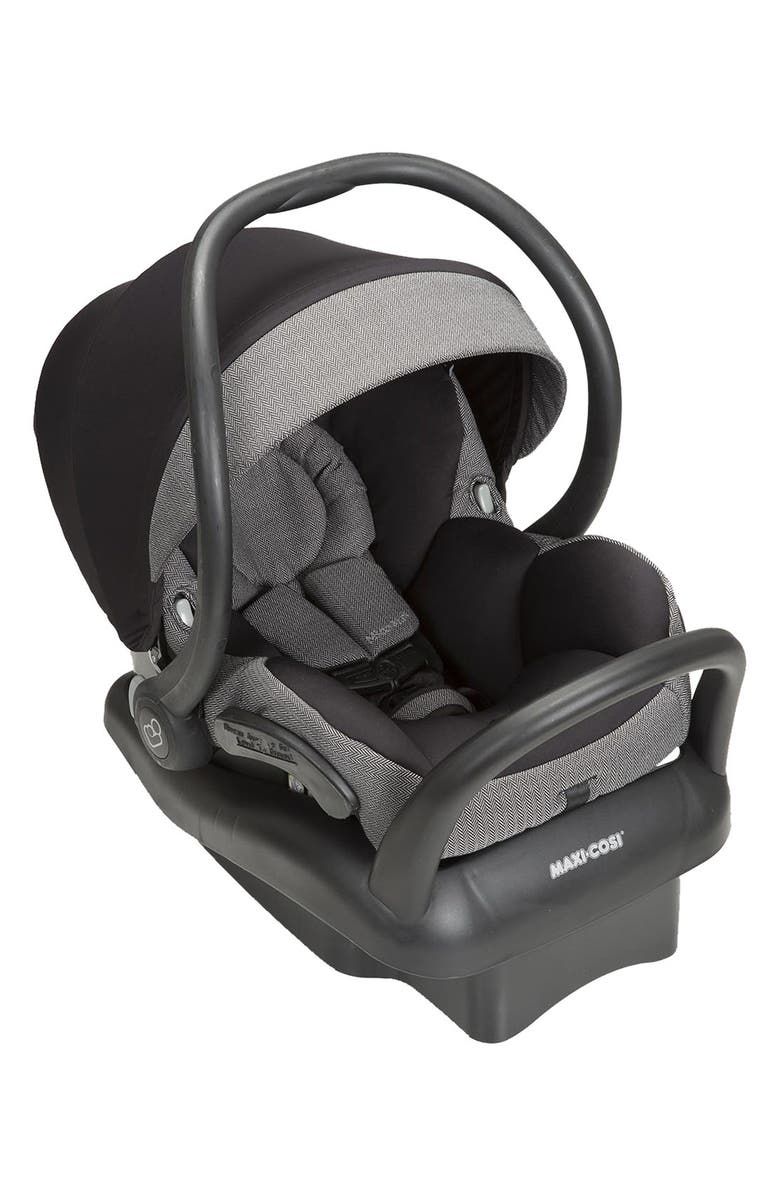 MAXI-COSI<SUP>®</SUP> 'Mico Max 30 - Herringbone Special Edition' Infant Car Seat with Mico Sun Cover, Main, color, 252