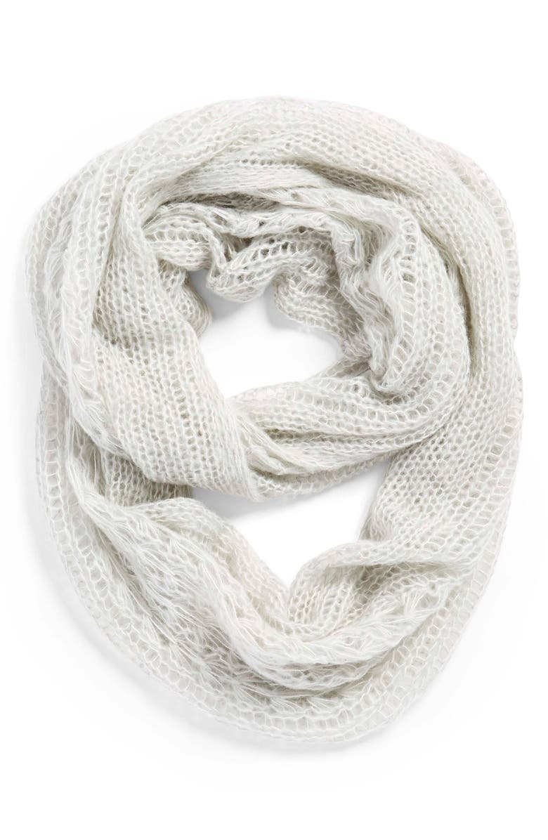 BP. Pointelle Infinity Scarf, Main, color, 020