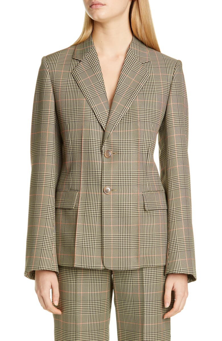 MAISON MARGIELA Glen Plaid Blazer, Main, color, 200