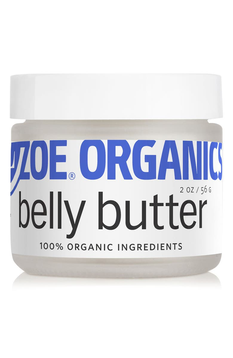ZOE ORGANICS Belly Butter, Main, color, White