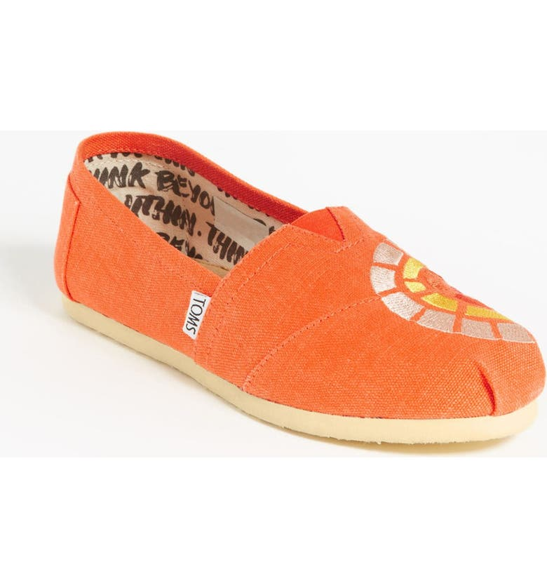 TOMS 'Classic - Women's Outreach' Slip-On, Main, color, 800