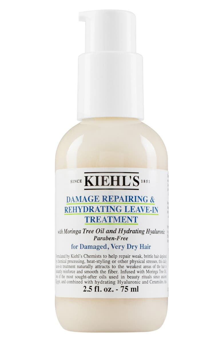 KIEHL'S SINCE 1851 Damage Repairing & Rehydrating Leave-In Hair Treatment, Main, color, No Color