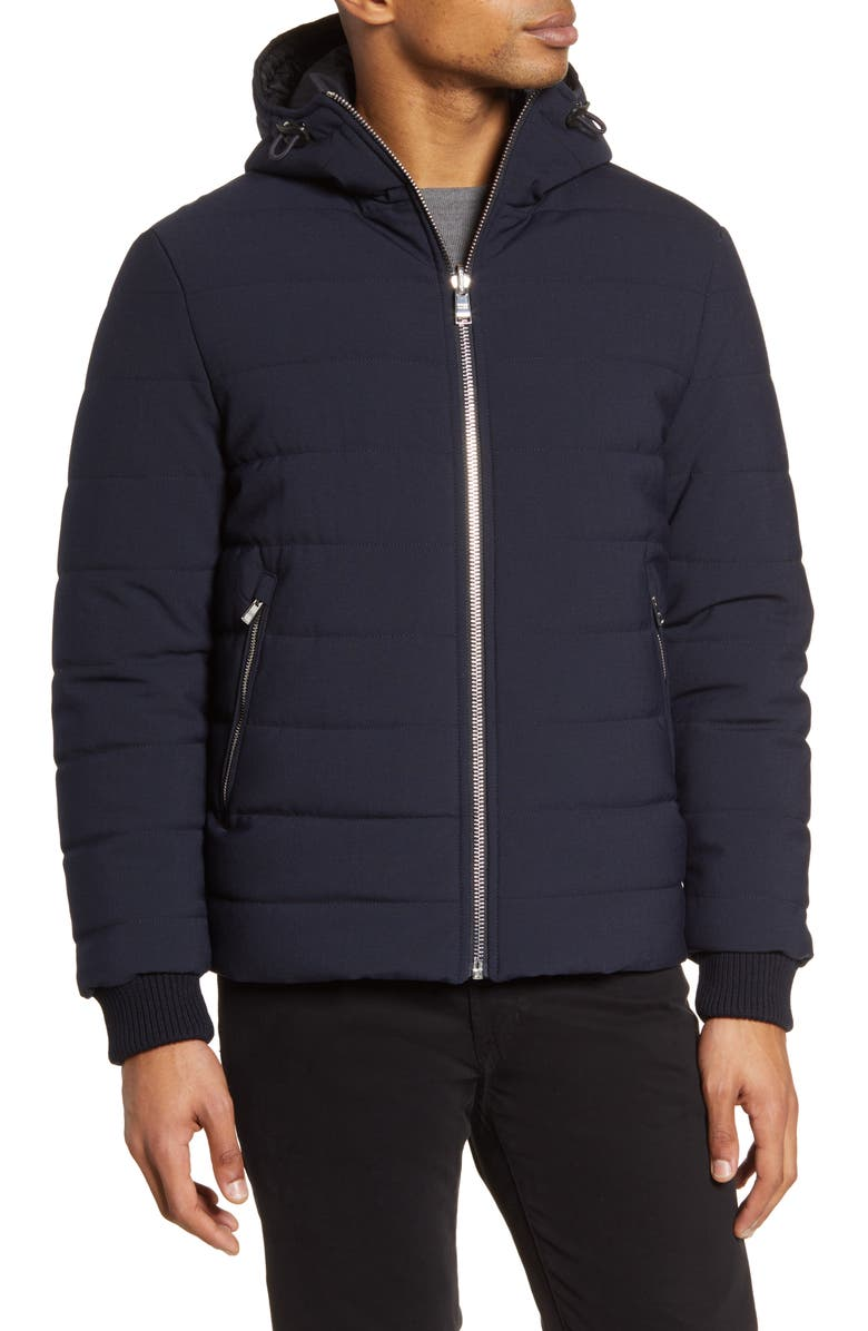 BOSS Cestra Reversible Water Repellent Jacket, Main, color, 402