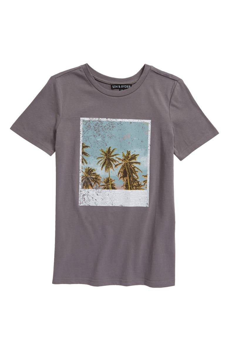 5TH AND RYDER Kids' Graphic Tee, Main, color, QUIET SHADEDNU