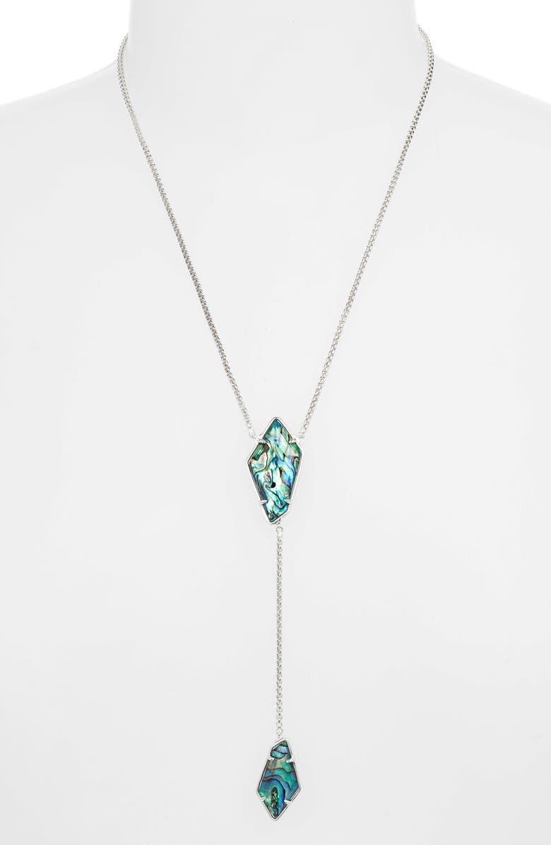 KENDRA SCOTT Lilith Y-Necklace, Main, color, 440
