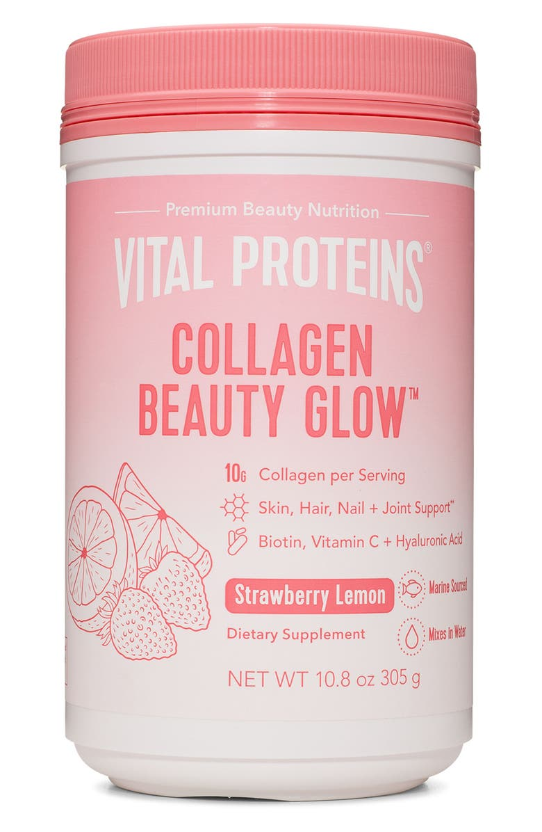 VITAL PROTEINS Collagen Beauty Glow Dietary Supplement, Main, color, 650