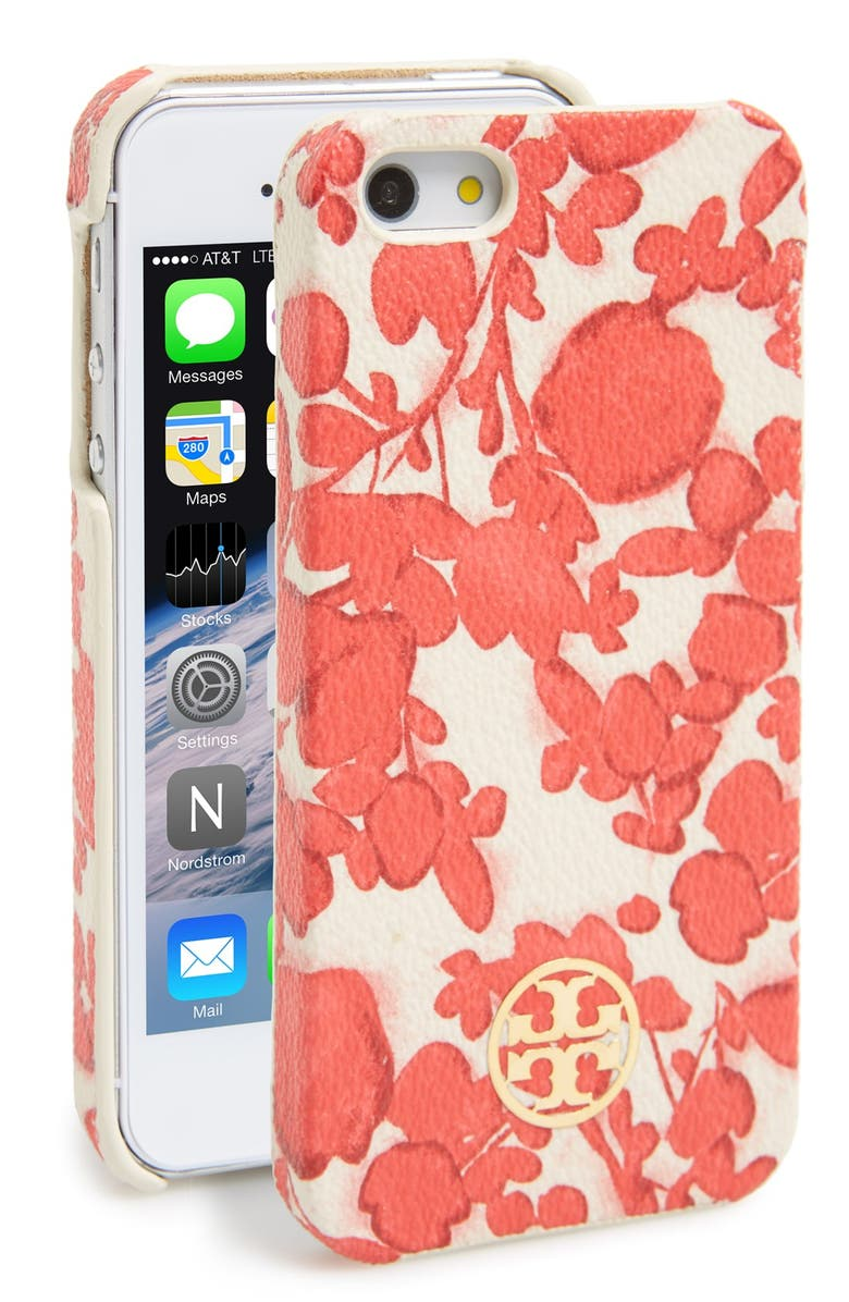 TORY BURCH 'Kerrington' iPhone 5 & 5s Case, Main, color, 600