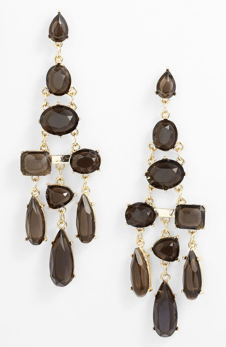 PANACEA Chandelier Earrings, Main, color, 001