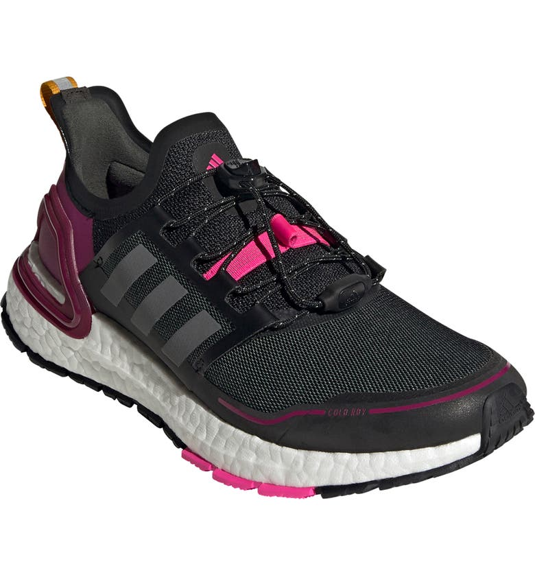 ADIDAS UltraBoost Summer.RDY Running Shoe, Main, color, BLACK/ IRON / POWER BERRY