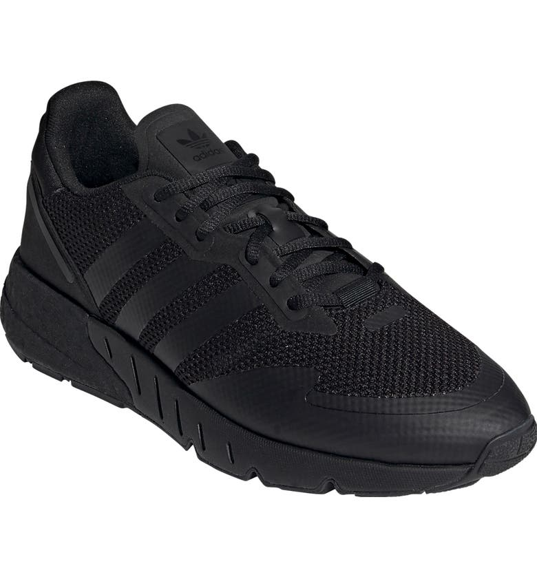 ADIDAS ZX 1K Boost Sneaker, Main, color, CORE BLACK/ CORE BLACK