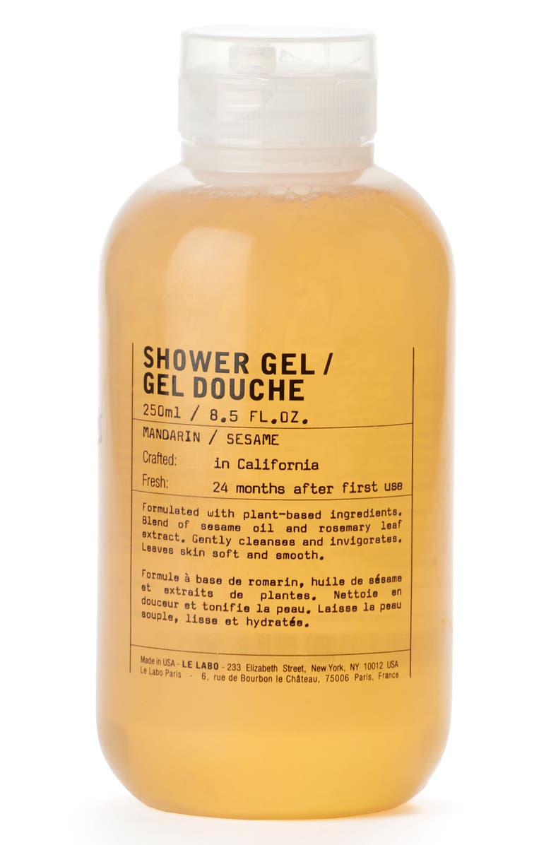 LE LABO Mandarin Shower Gel, Main, color, No Color