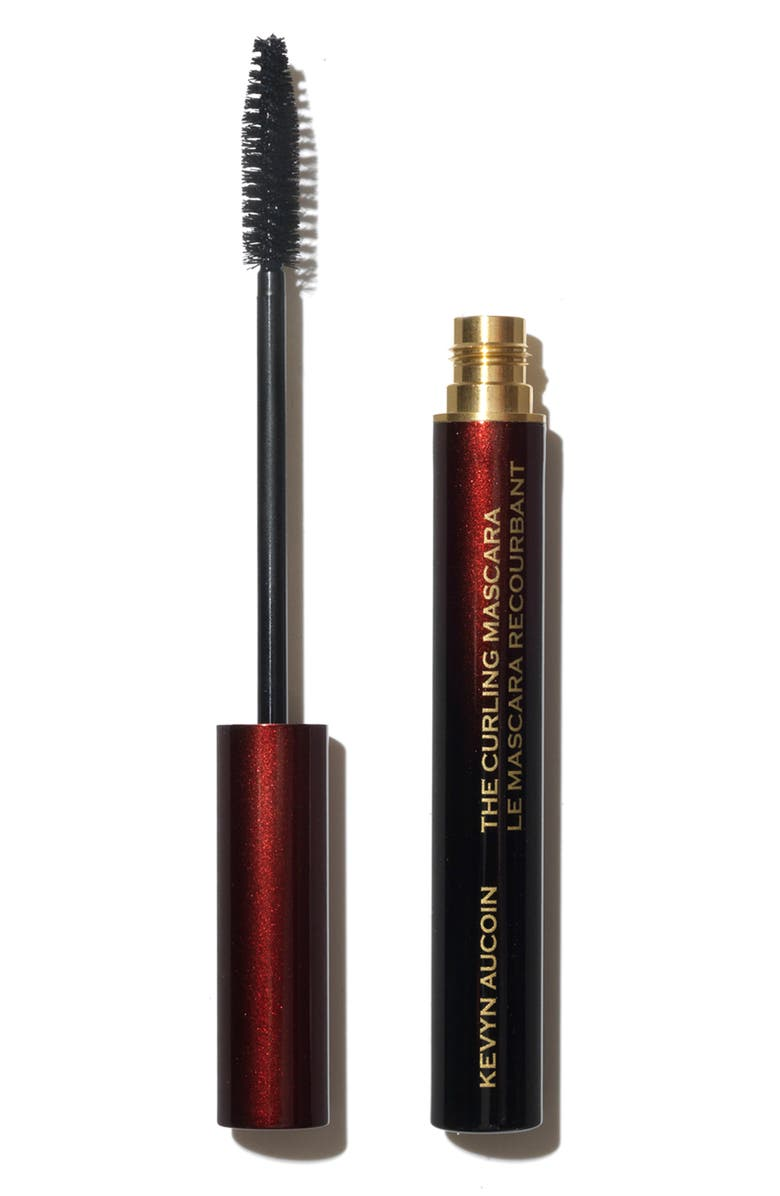 KEVYN AUCOIN BEAUTY The Curling Mascara, Main, color, RICH PITCH BLACK