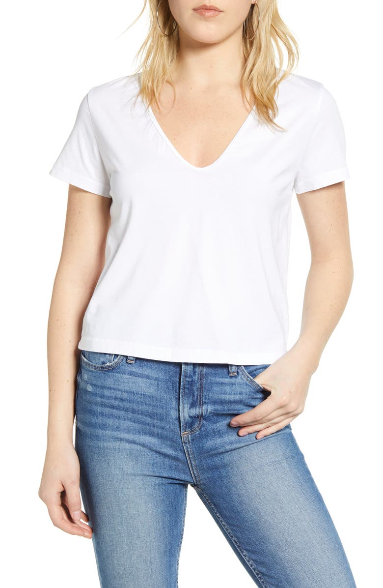 STATESIDE Supima<sup>®</sup> Cotton T-Shirt, Main, color, 100