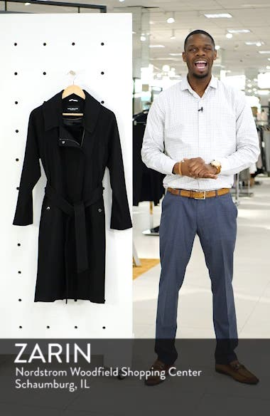 Wool Blend Trench Coat, sales video thumbnail