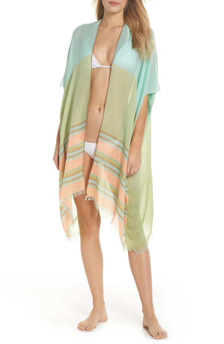 POOL TO PARTY Topper Cover-Up, Main, color, MINT
