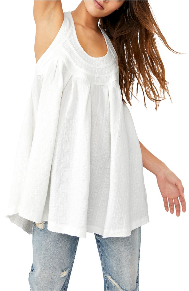 FREE PEOPLE New You Tank, Main, color, IVORY