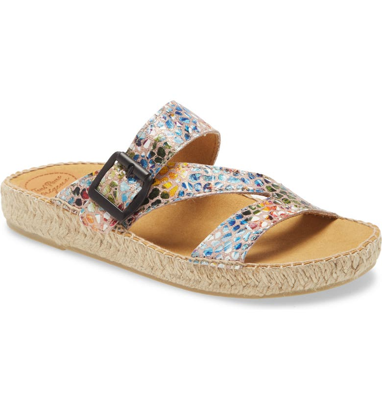 TONI PONS Bibi Espadrille Sandal, Main, color, TAUPE LEATHER