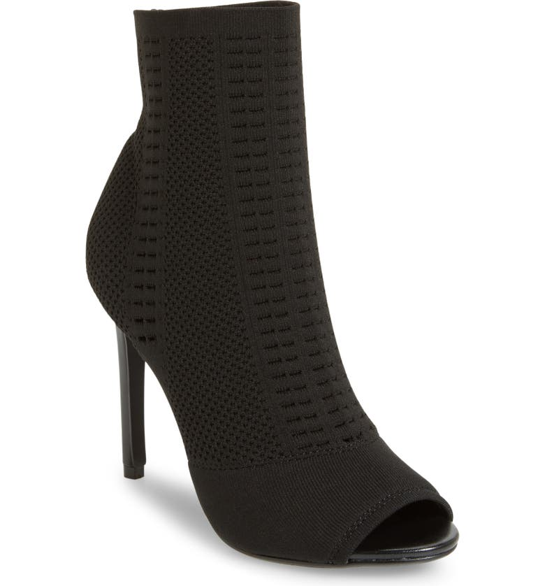 STEVE MADDEN Candid Knit Bootie, Main, color, 009