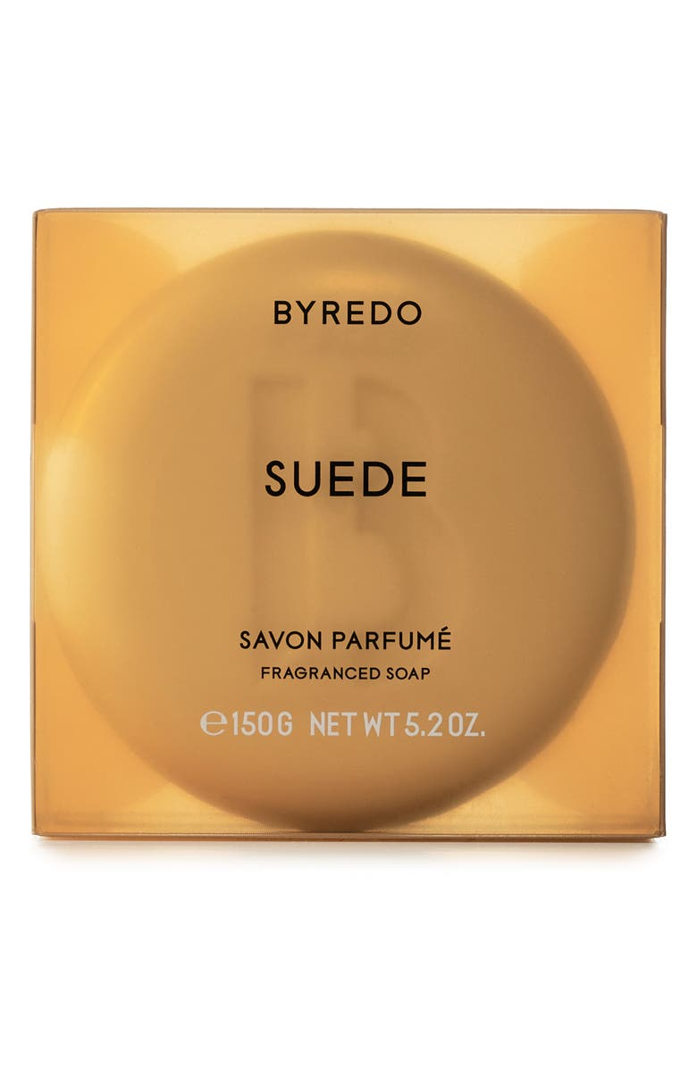 BYREDO Suede Soap Bar, Main, color, NO COLOR