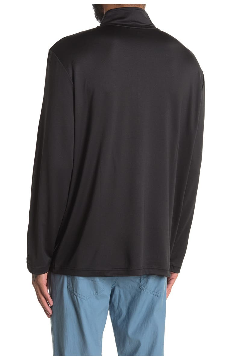 MOVE Performance 1/4 Zip Pullover, Main, color, BLACK